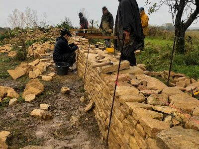 Dry stone walling for beginners